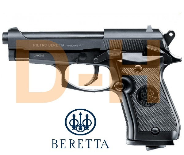 Airsoft Beretta M84 CO² Metaal 4,5 mm 3 Joule