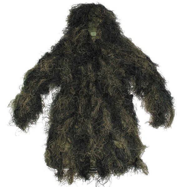 Ghillie Parka in Woodland,Top Camo voor Snipers
