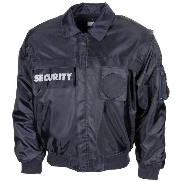"Jas ""Security"", blauw"