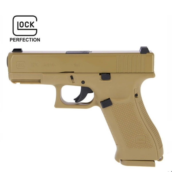 Airgun CO² Model Glock 19 X 4,5 MM Metaalslede