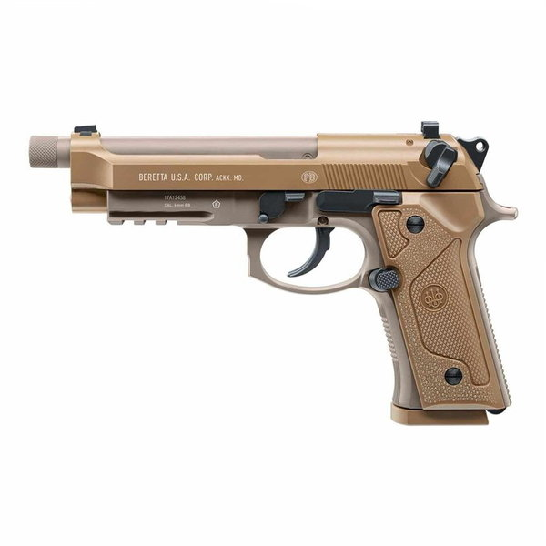 Airsoft CO² M9 A3 Tan met Blowback