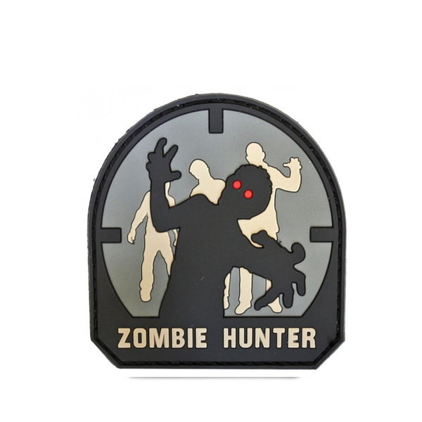 Patch / Embleem 3D PVC Zombie Hunter ACU-A