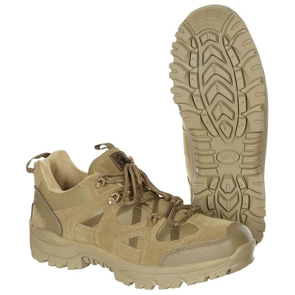 "Lage schoenen, ""Tactical Low"", coyote"