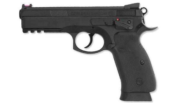Airsoft Pistool CO² CZ SP01 Zwart 4,5MM