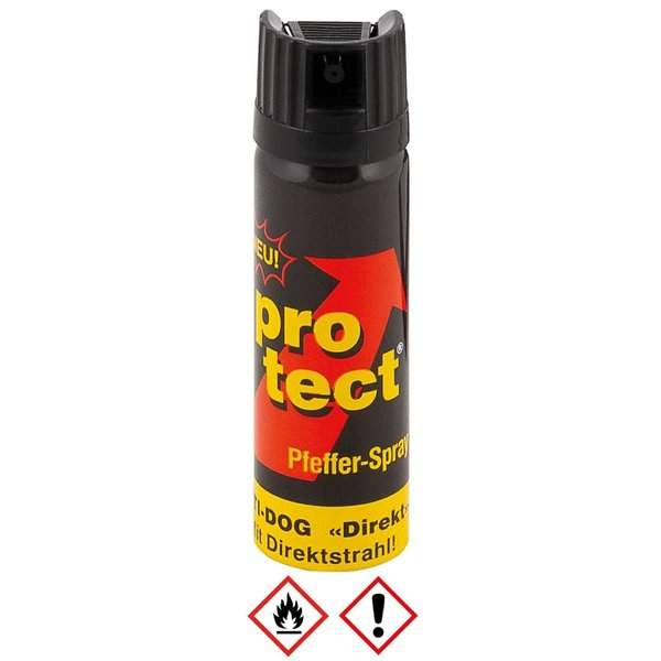 Peperspray Protect 63 ml Antidog met direktstraal